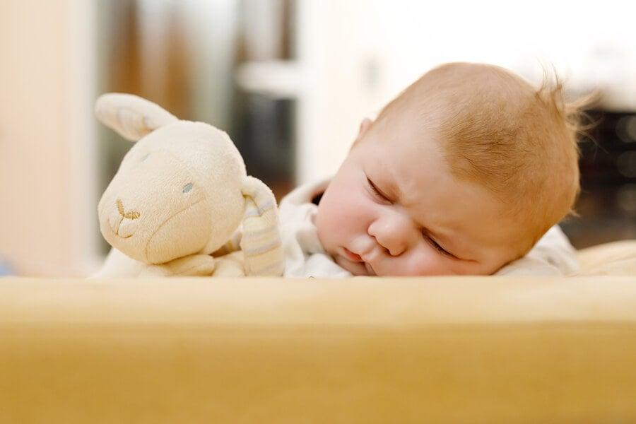 La caída del cabello en los recién nacidos