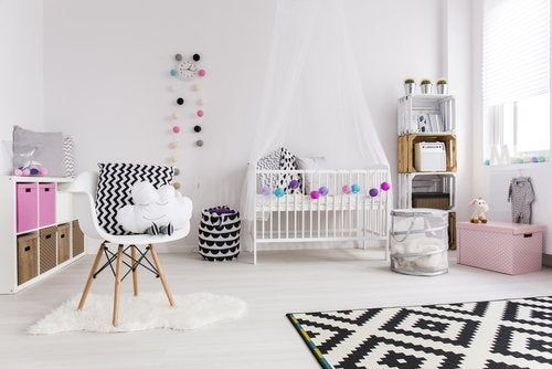 6 tipos de armarios para bebés.