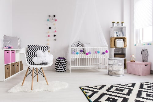 6 tipos de armarios para bebés