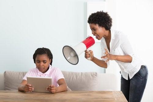 La falta de autoridad de los padres