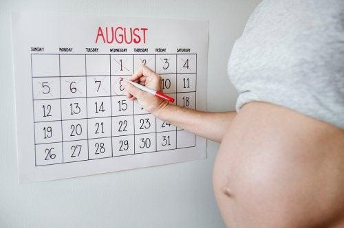 Existen diversos métodos para calcular la posible fecha de parto.