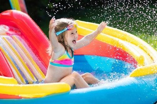 Juegos para el agua con niños.