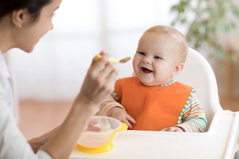 8 papillas de frutas para bebés