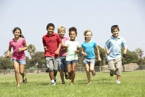 4 juegos recreativos para niños