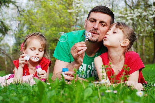 Actividades de verano para padres y niños.