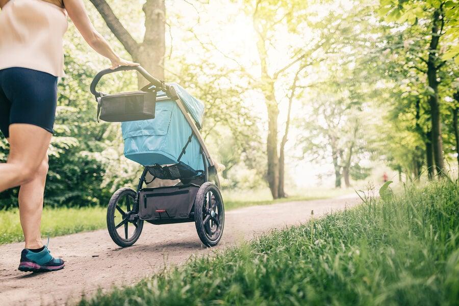 ¿Cuándo empezar a salir de casa con el bebé?