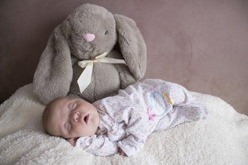 Cómo es el sueño del bebé en los tres primeros meses