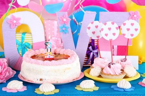 Las fiestas temáticas para niños.
