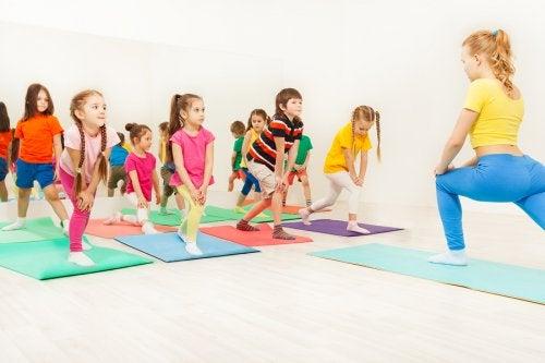 Aeróbicos para niños: un ejercicio ideal