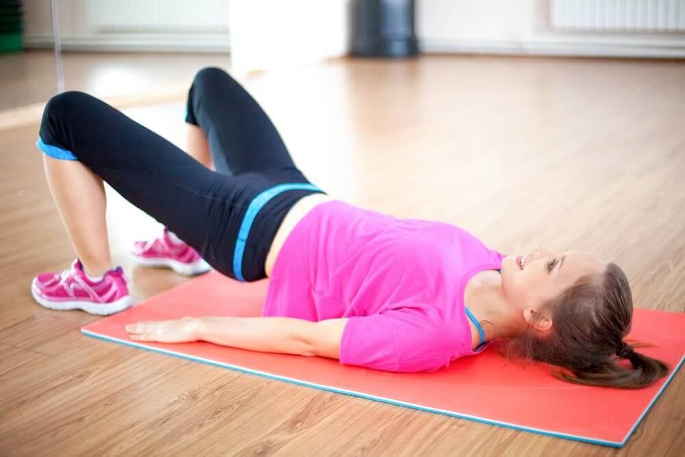 Hacer deporte después del parto.