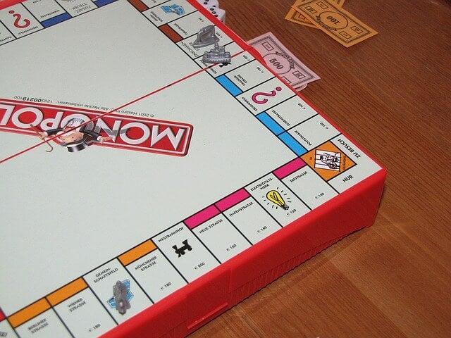 El monopoly, uno de los juegos de simulación.