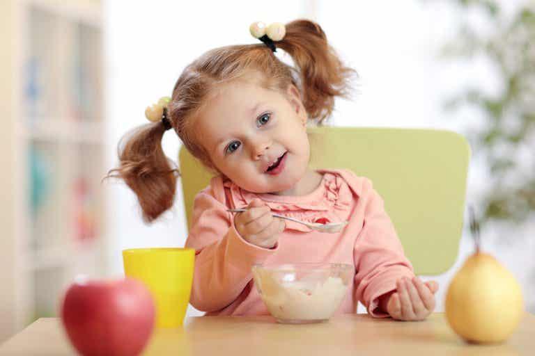 Alimentos para aumentar las defensas de los niños