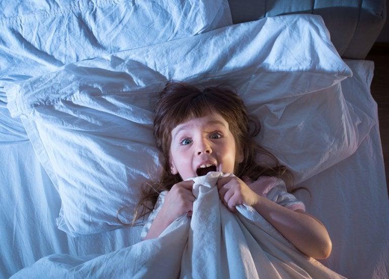 Las pesadillas en niños: descubre qué son y sus causas