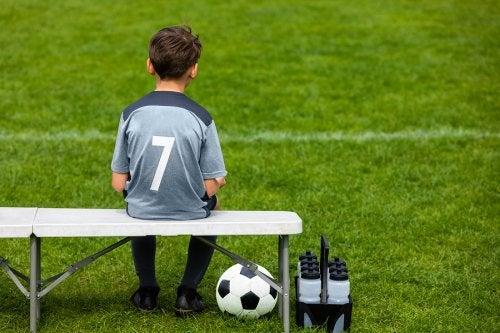 A mi hijo no le gusta el fútbol