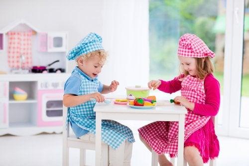 Cocinas de juguete y su atractivo en la infancia