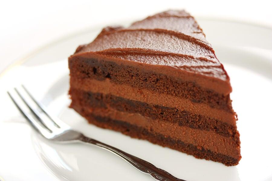 Las recetas con chocolate incluyen la clásica tarta, por supuesto.