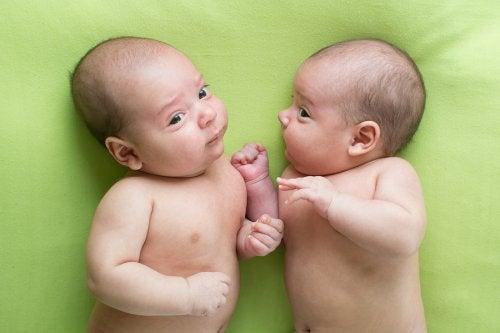 El parto doble es más probable en mujeres con antecedentes familiares de este tipo de embarazos.
