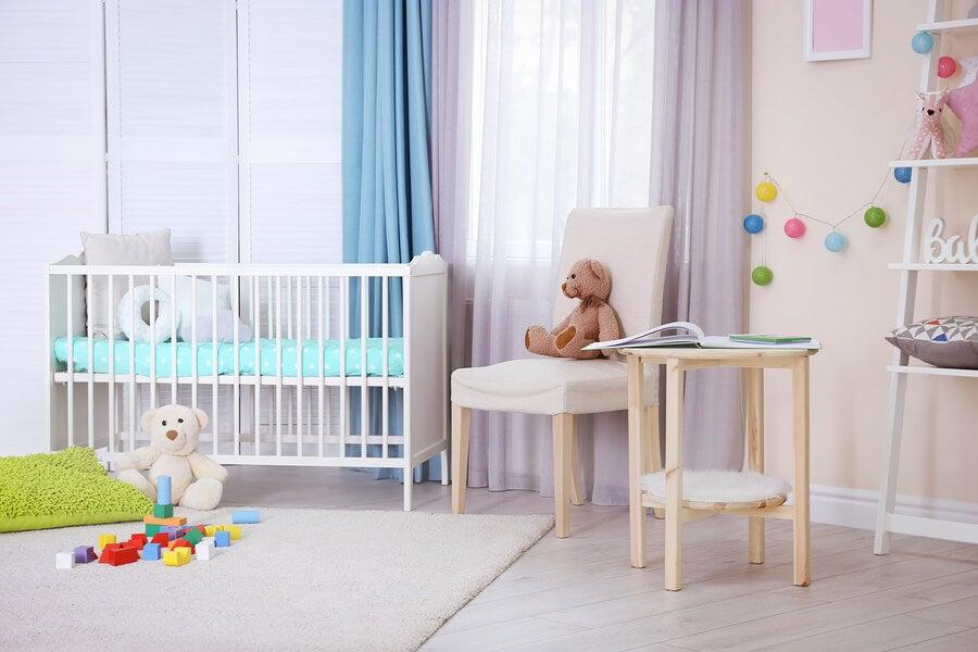6 adornos para la habitación del bebé