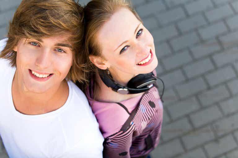 Amor y amistad entre adolescentes