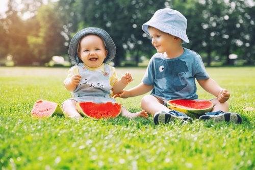 Cambios de comportamiento del niño ante la llegada de un hermano