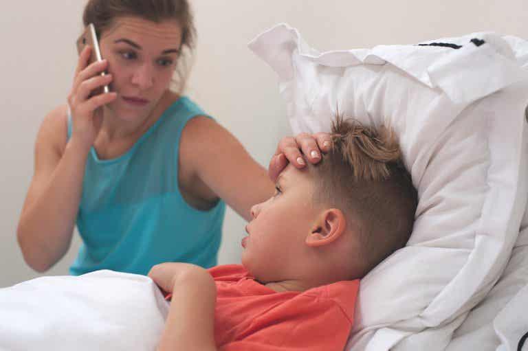 ¿Cómo detectar de manera natural si mi hijo tiene fiebre?