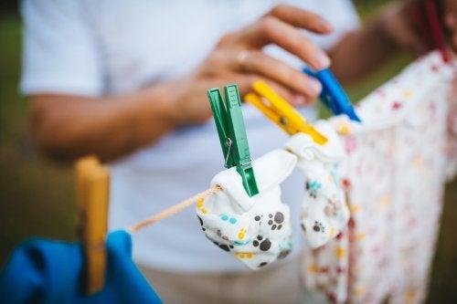 ¿Cómo lavar la ropa del recién nacido?