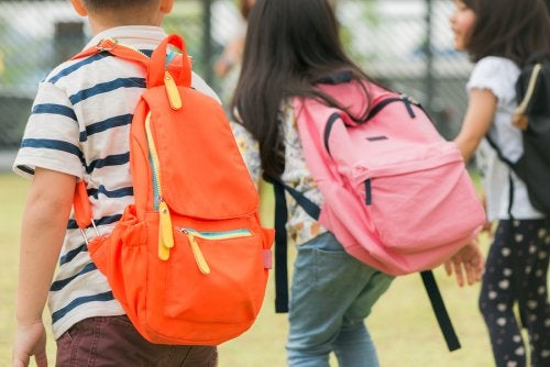 No sobrecargar la mochila es un aspecto esencial para cuidar la salud de los infantes.