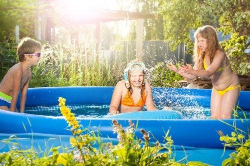 Piscinas hinchables para el verano