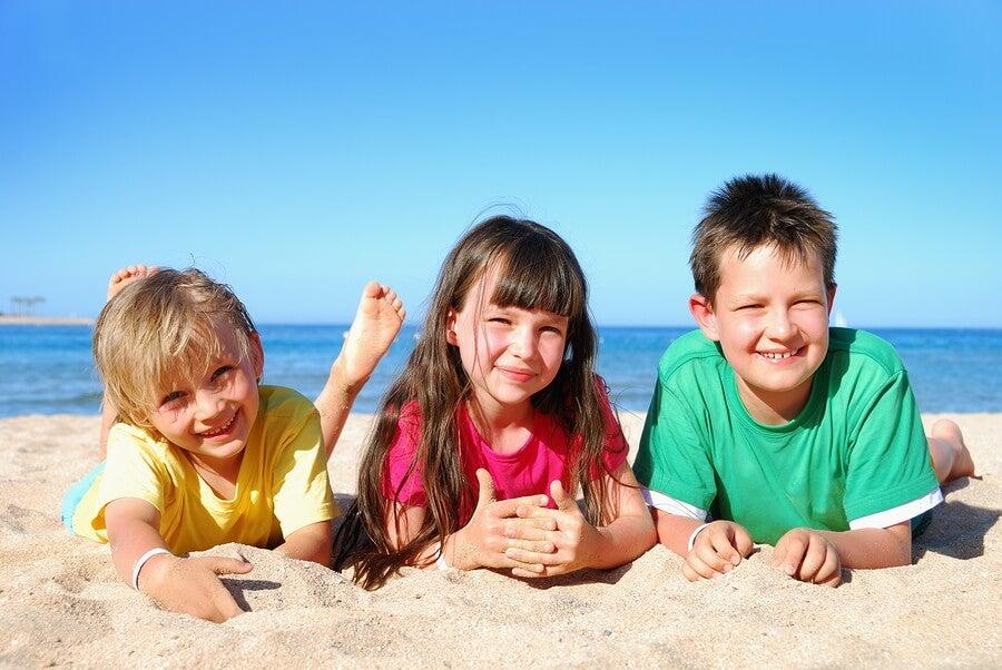 Los cambios en las rutinas de los niños con la llegada del verano