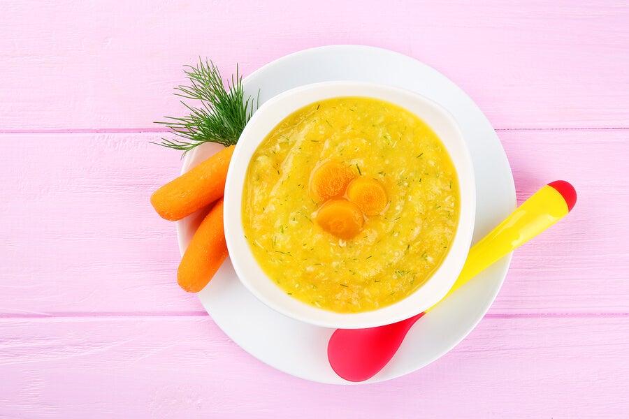 Dieta blanda para cortar la diarrea en niños
