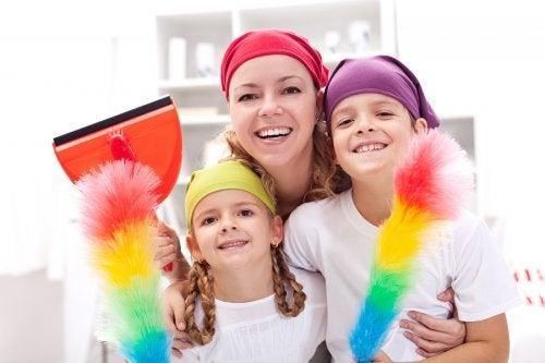 Higiene en el hogar: trucos y consejos