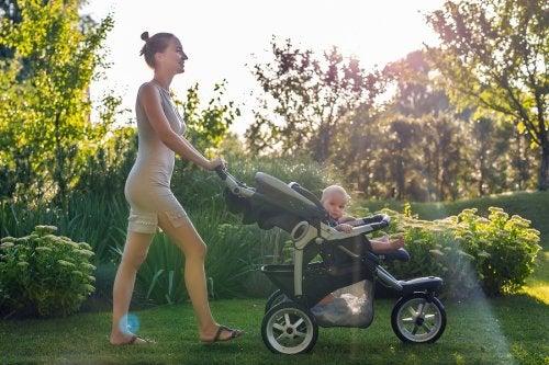 ¿Qué tipos de carritos para el bebé existen?