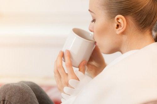 El escaramajo es una de las infusiones aptas para la lactancia gracias a su aporte de vitaminas C, B1, B2 y K.
