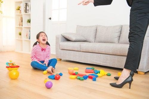 4 causas de enfado en los niños