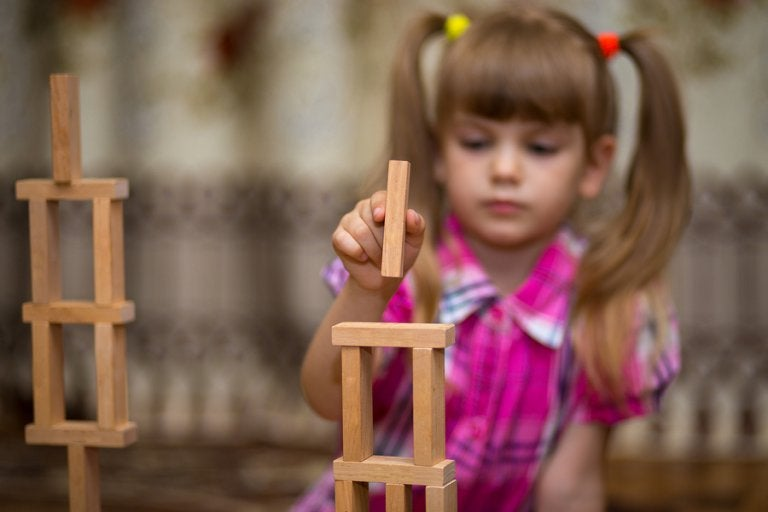 Los juguetes de madera en la infancia