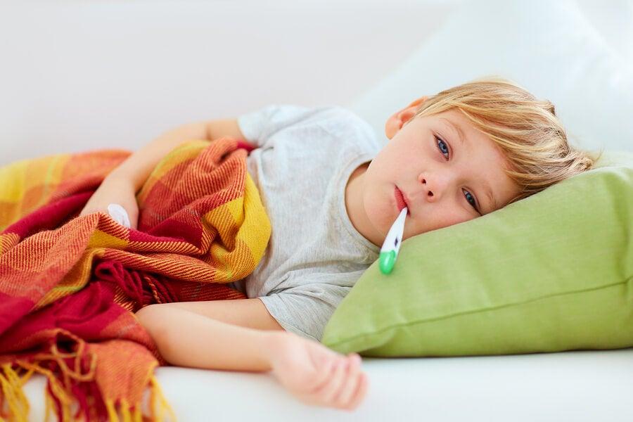 Fiebre y somnolencia en niños: ¿qué hacer?
