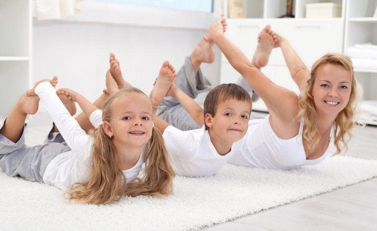 6 ideas para hacer deporte con tus hijos
