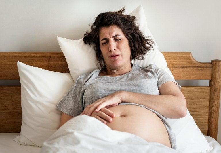 Hemorroides durante el parto