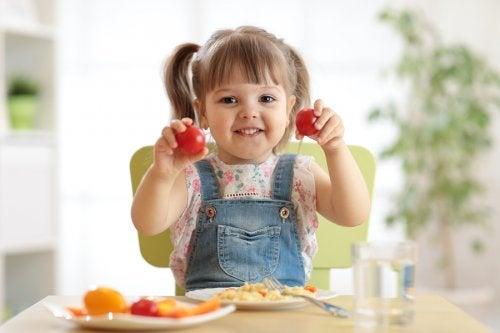 Tipos de ensaladas para niños.