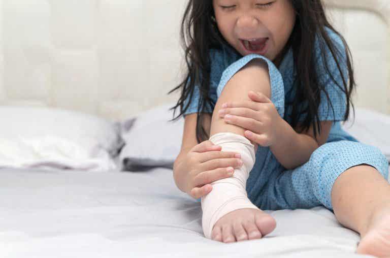 Esguince de tobillo en niños