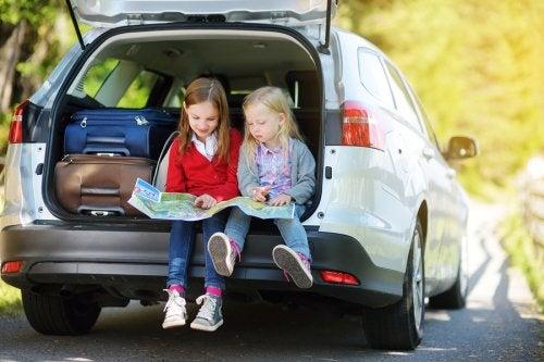 Consejos para viajar en familia.