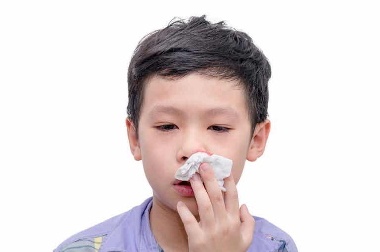 ¿Por qué a los niños les sangra la nariz?