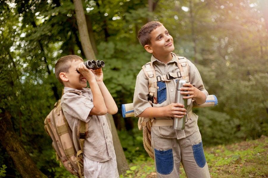 Boy scout el valor de la naturaleza