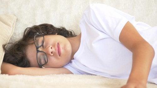Problemas de sueño durante la adolescencia.