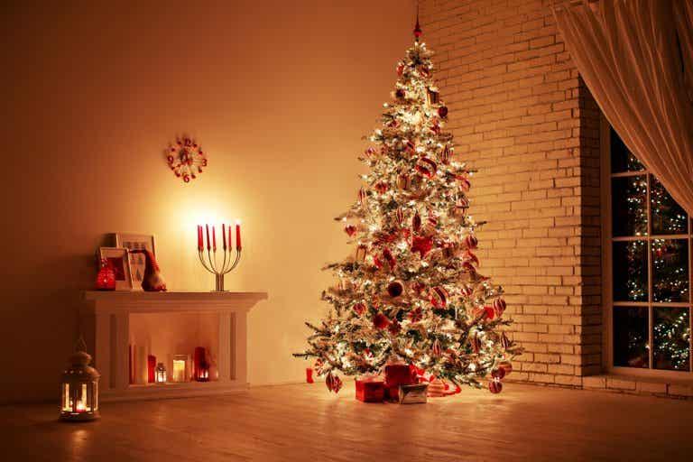Ideas para decorar el salón en Navidad