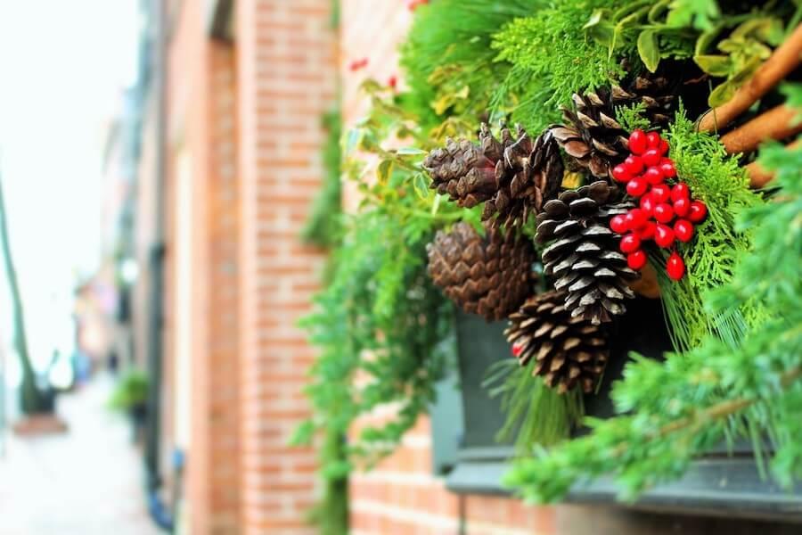 6 Ideas para decorar el jardín en Navidad