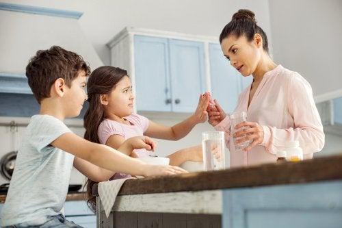 La técnica del disco rayado en los niños