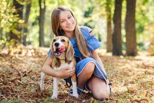 Tipos de perros más adecuados para niños