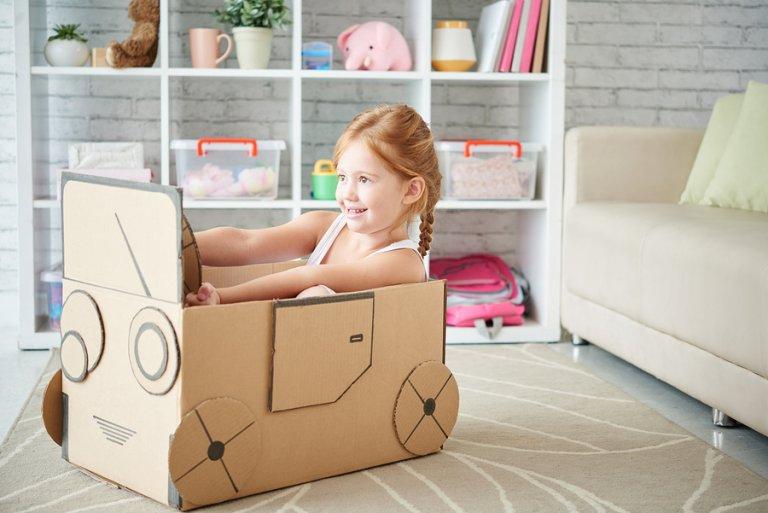 3 manualidades con cartón para niños