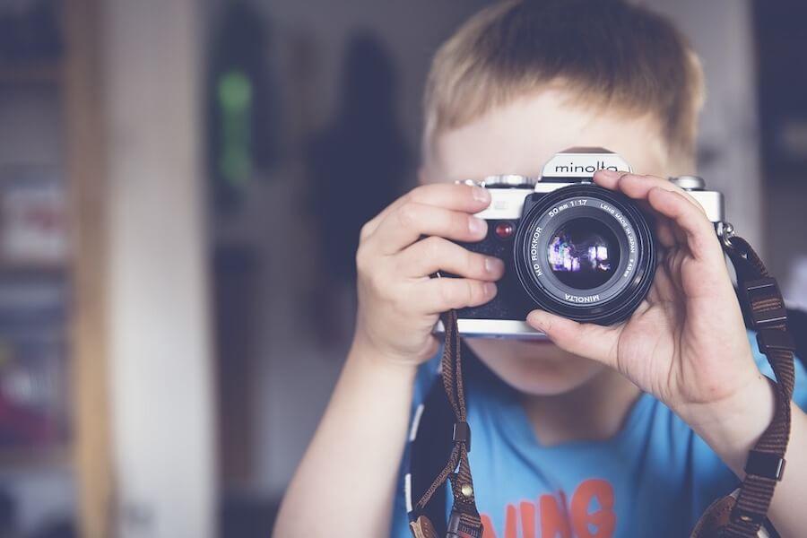 Regalar una cámara de fotos por la Comunión es acertar casi seguro.